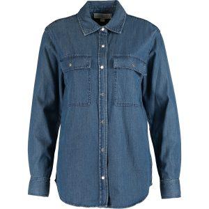 Blue Relaxed Denim Shirt
