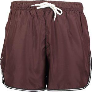 Burgundy Alex Swim Shorts